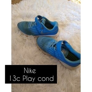 Nike Girls 13c Shoes Play Condition